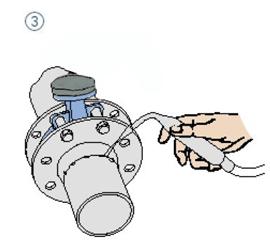 阀门连接方式-对夹式软密封蝶阀-对夹连接图片